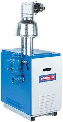 Small gas boiler
