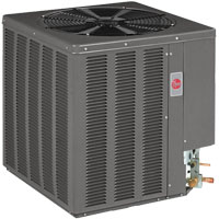 Rheem central air heat pump