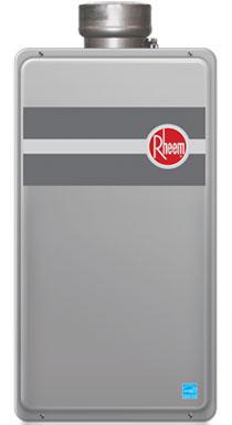 Residential hot water tankless by Rheem