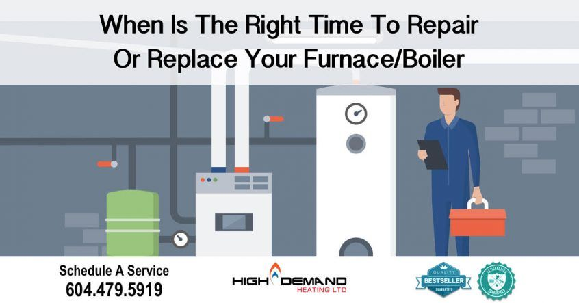 Time to Repair or Replace your Furnace/Boiler