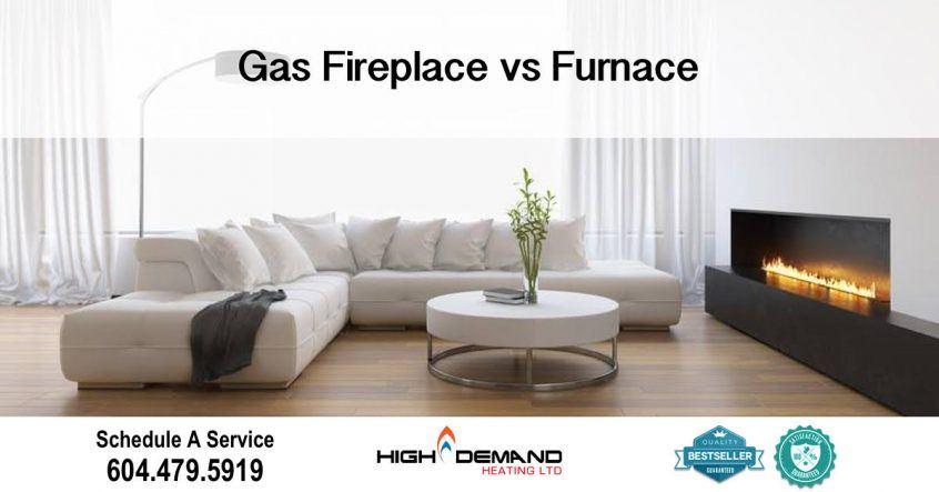 Gas Fireplace vs Furnace